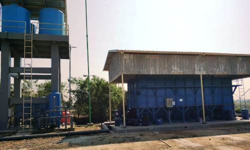 WWTP Recycle with Clarifier, Filter & Softener, RPA Cikande